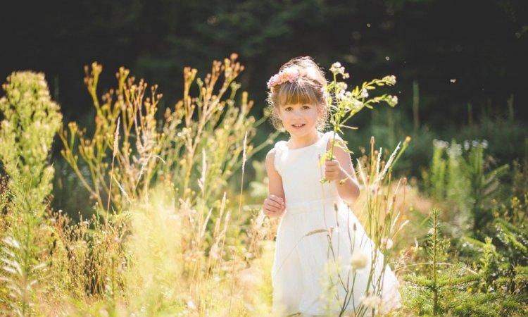 Séance photo enfant life style extérieur